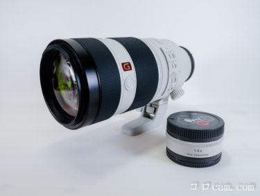 【商品レビュー】SONY Eマウント FE 100-400mm F4.5-5.6 SEL100400GM & ×1.4倍テレコン SEL14TC