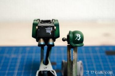プラモの作り方 & 撮影の仕方 ガンプラ HG ジ・オリジン MS-05 ザクⅠ 制作編⑩ スミ入れ&ドライブラシ、デカール貼り